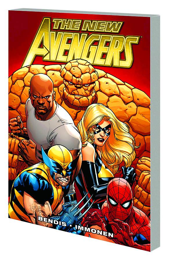 NEW AVENGERS BY BRIAN MICHAEL BENDIS PREM HC VOL 01