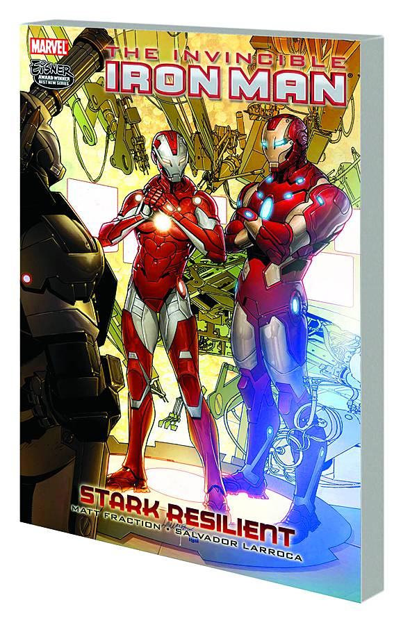 INVINCIBLE IRON MAN PREM HC VOL 06 STARK RESILIENT BOOK 2