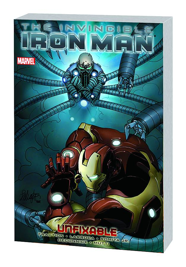 INVINCIBLE IRON MAN PREM HC VOL 08 UNFIXABLE