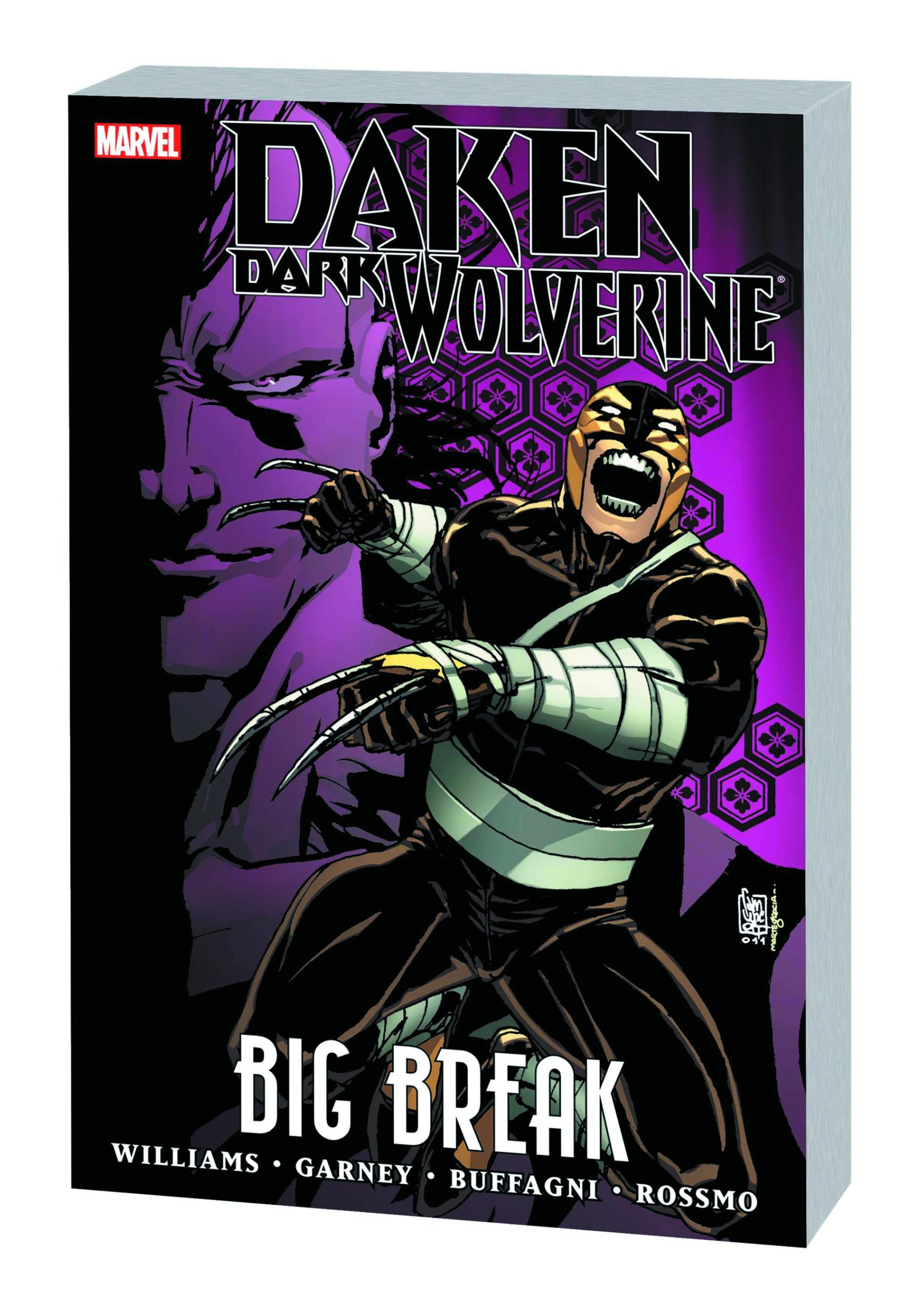 DAKEN DARK WOLVERINE PREM HC BIG BREAK