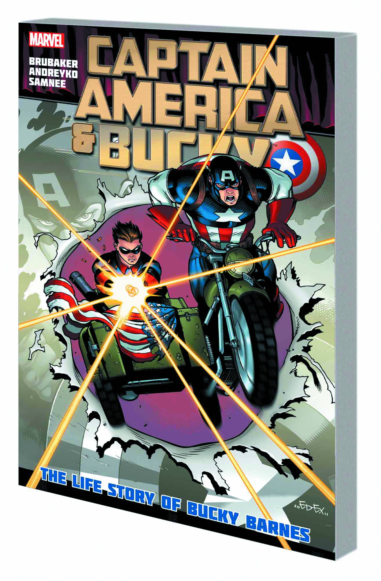 CAPTAIN AMERICA AND BUCKY PREM HC LIFE OF BUCKY BARNES