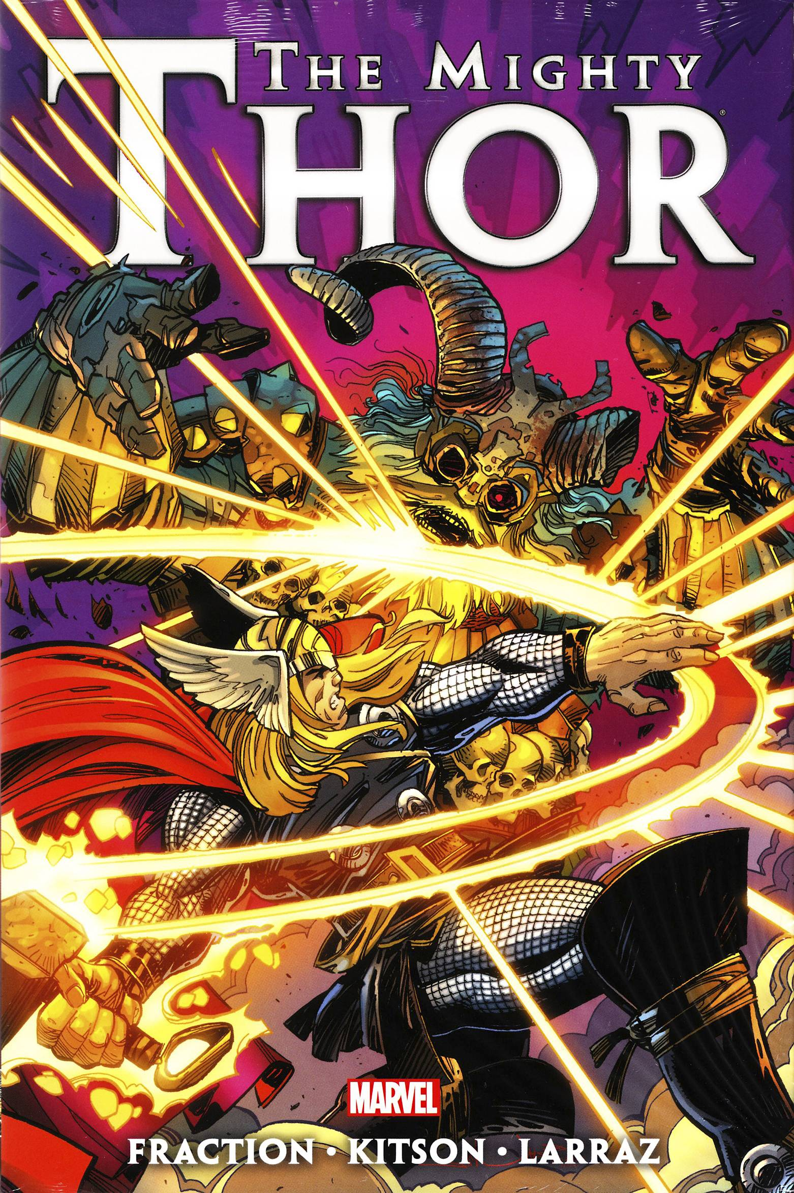 MIGHTY THOR BY MATT FRACTION PREM HC VOL 03