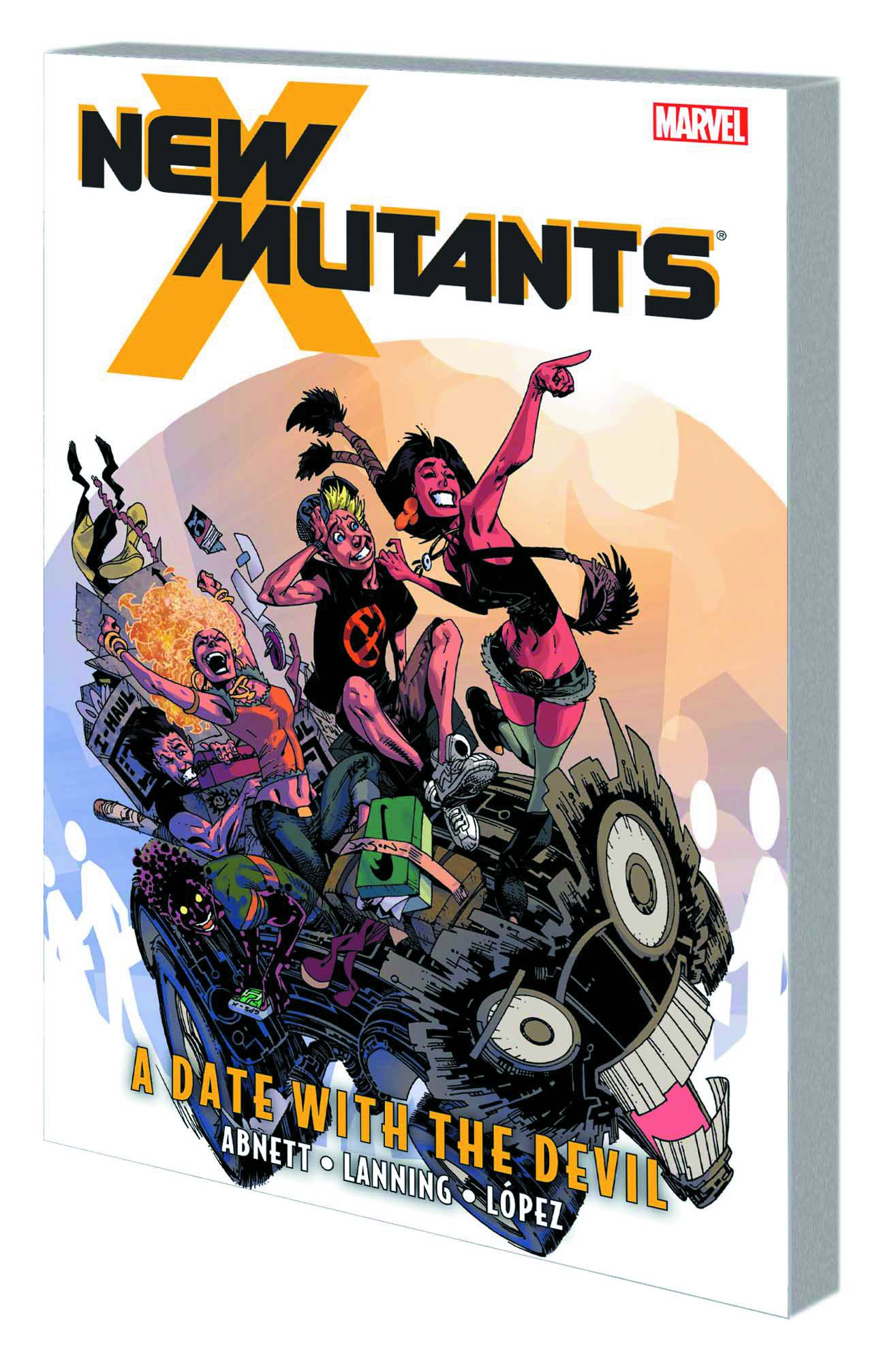 NEW MUTANTS TP VOL 05 DATE WITH DEVIL