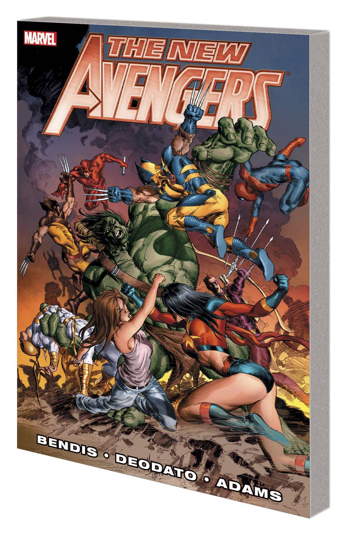 NEW AVENGERS BY BRIAN MICHAEL BENDIS PREM HC VOL 03