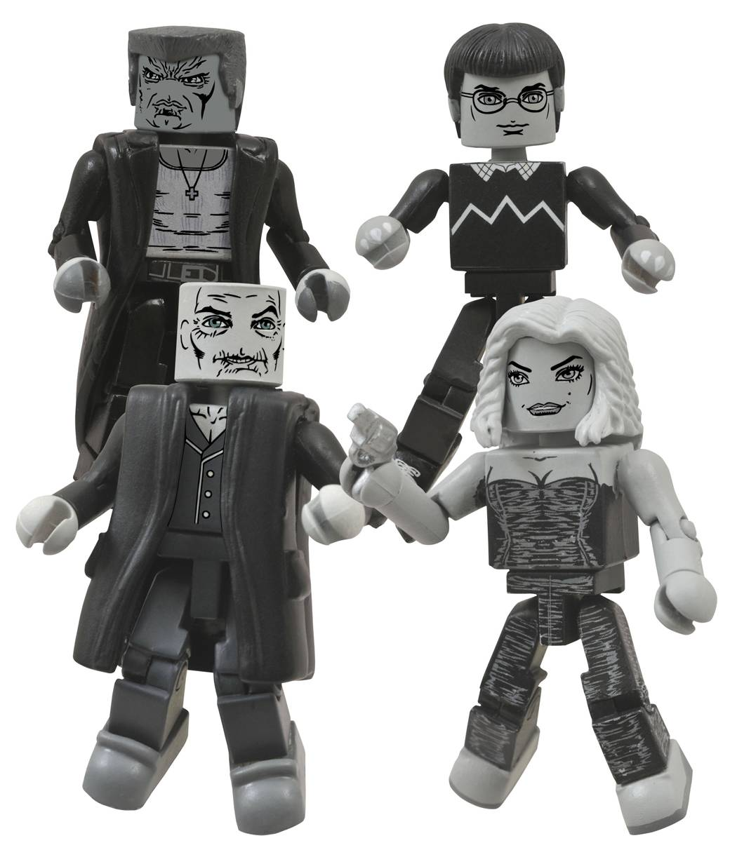 SIN CITY MINIMATES SER 2 BOX SET