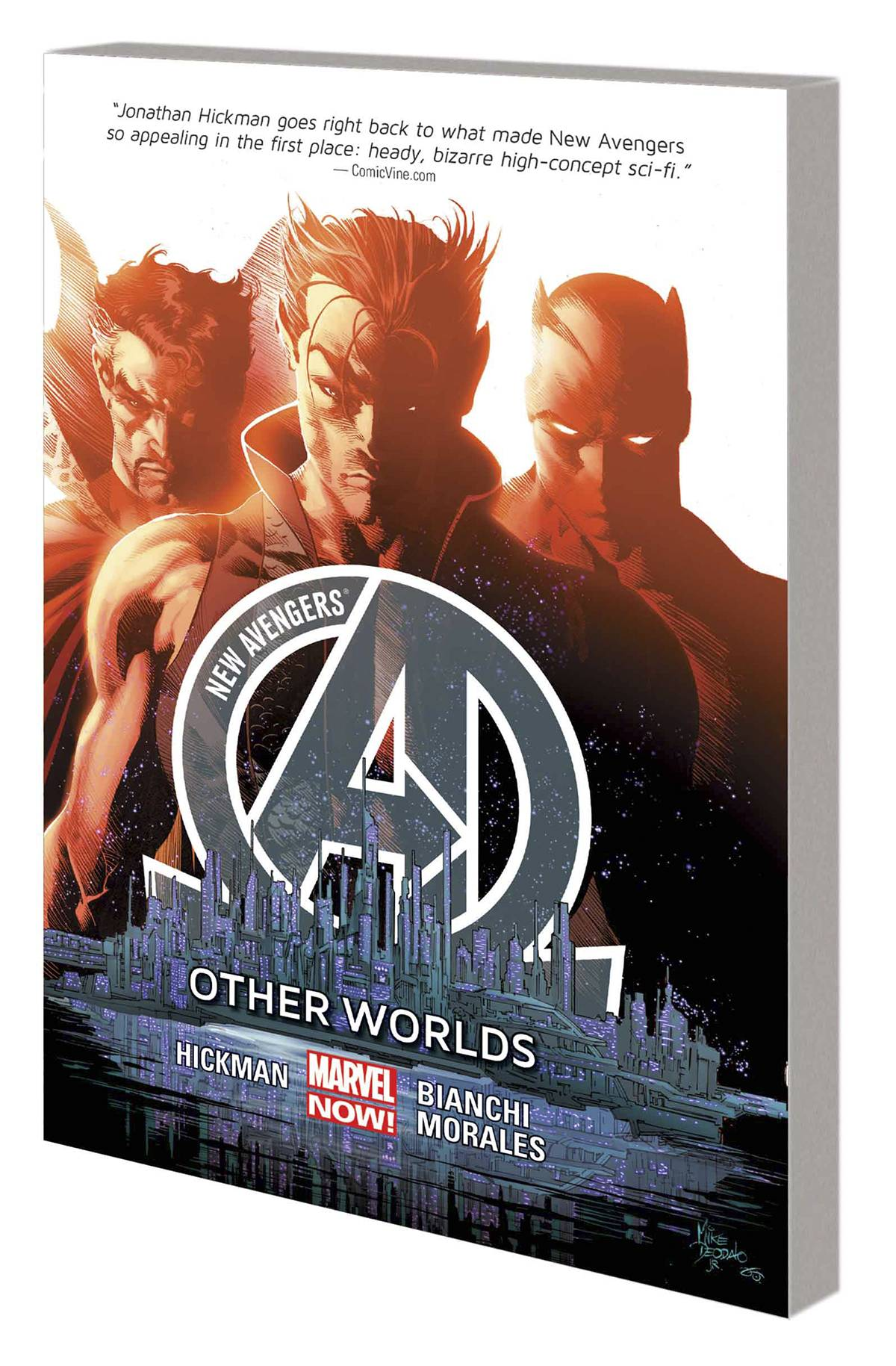 NEW AVENGERS PREM HC VOL 03 OTHER WORLDS