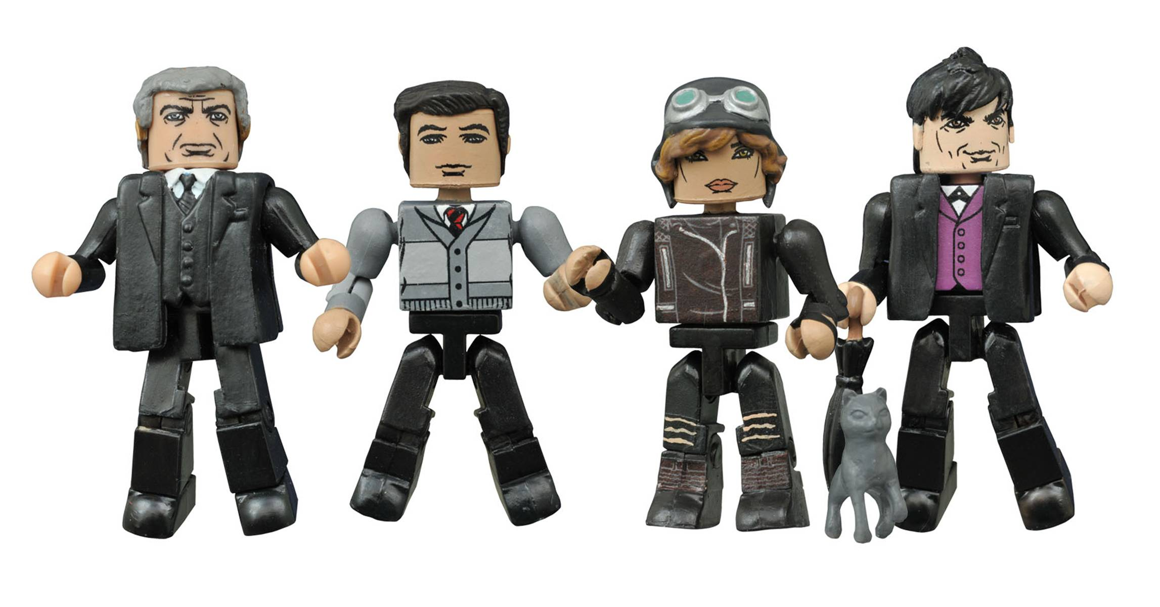 GOTHAM MINIMATES BOX SET 2 (CAIXA DAMAGED)