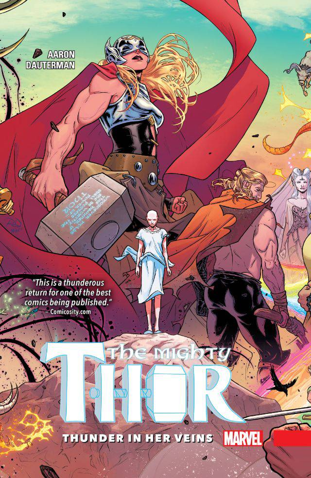 MIGHTY THOR PREM HC THUNDER IN HER VEINS VOL 01