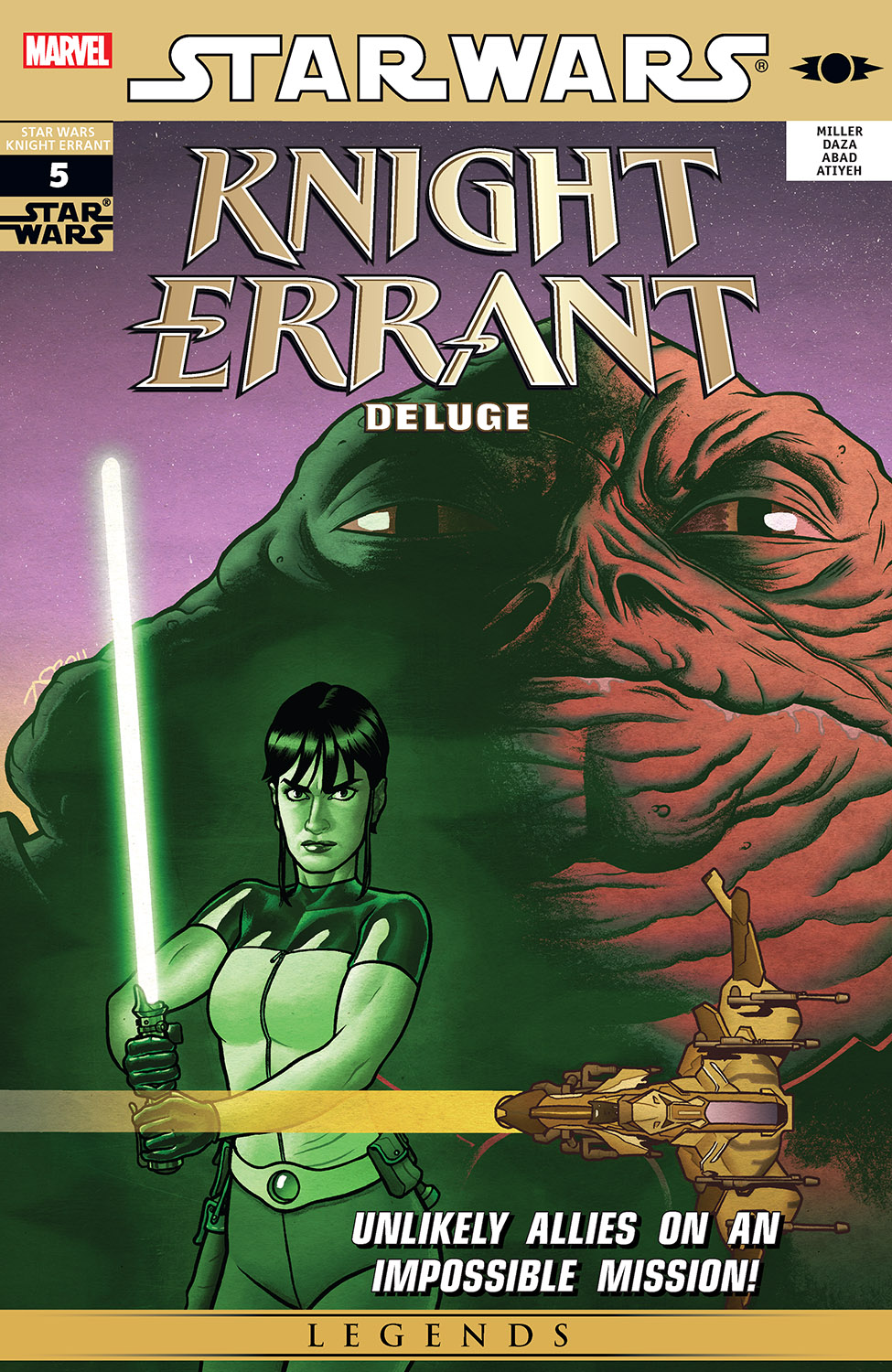 STAR WAS KNIGHT ERRANT: DELUGE (MS 5)