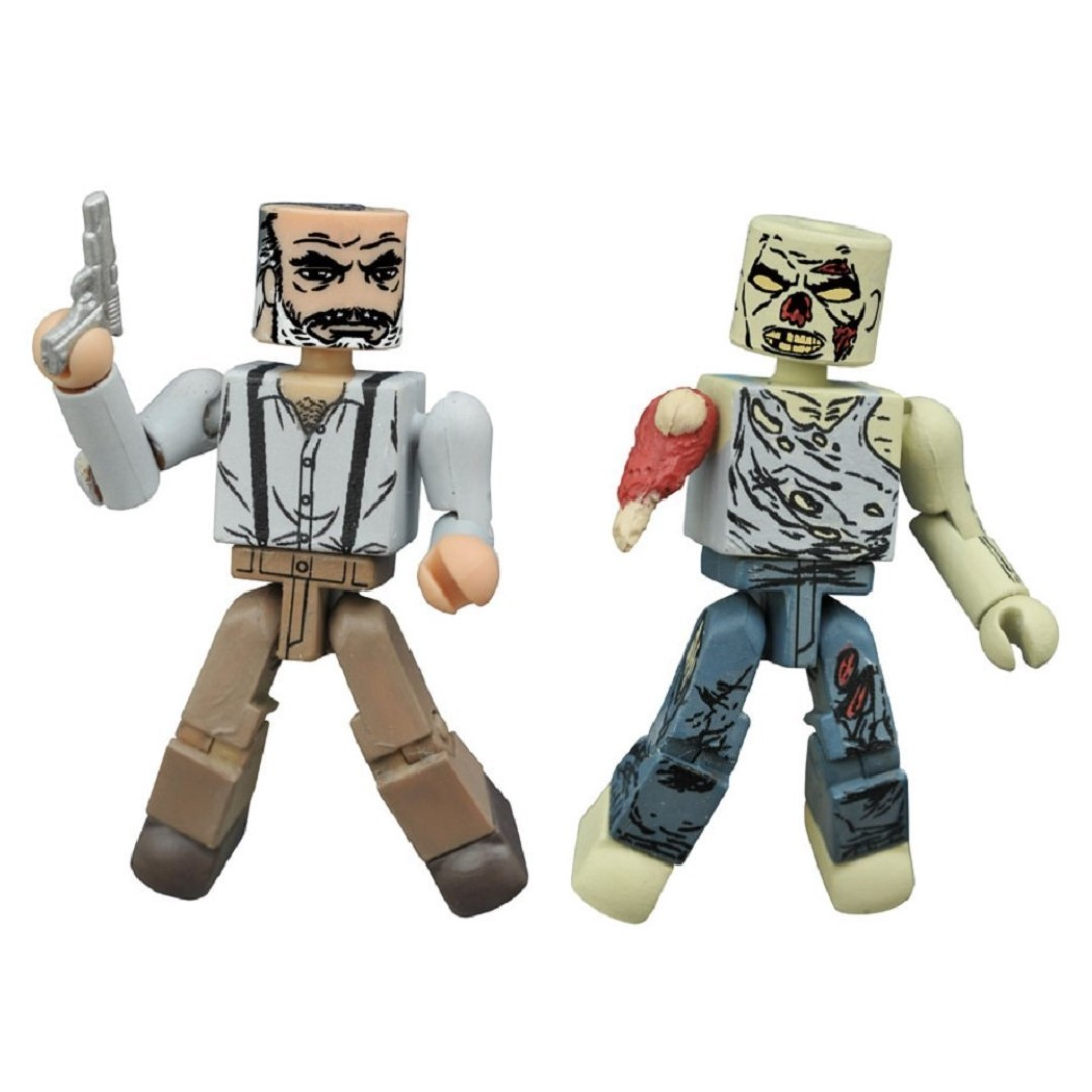WALKING DEAD MINIMATES SERIES 8 ASST GREGORY/FOREST ZOMBIE