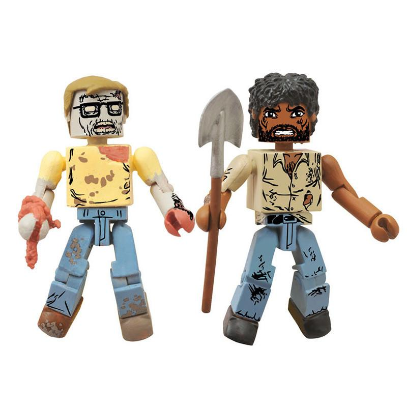 WALKING DEAD MINIMATES SER 5 ASST SURVIVOR MORGAN/ZOMBIE