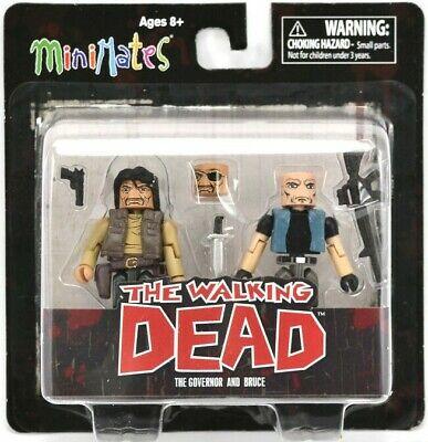 WALKING DEAD MINIMATES SER 4 ASST GOVERNOR/BRUCE