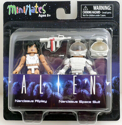 ALIENS MINIMATES SERIES 3 ASST NARCISSUS RIPLEY/NARCISSUS SPACE SUIT