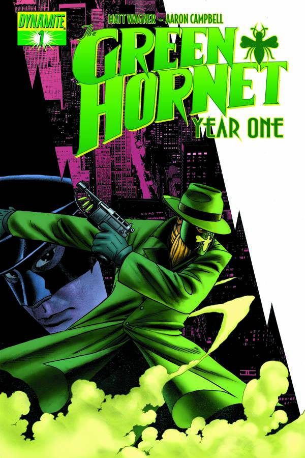 GREEN HORNET YEAR ONE (MS 6)