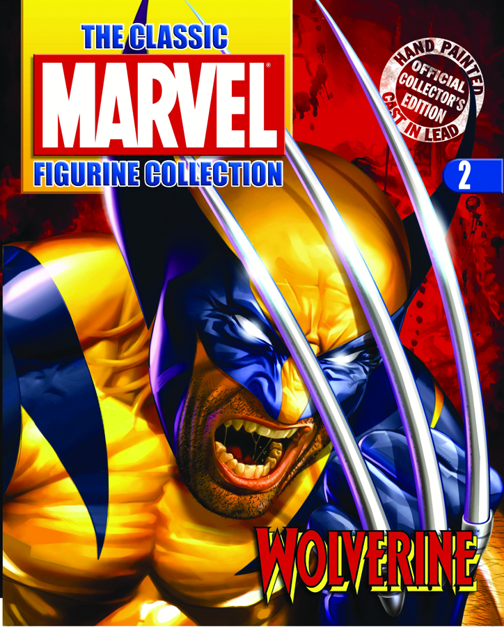 CLASSIC MARVEL FIG COLL MAG #02 WOLVERINE