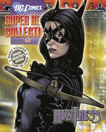 DC SUPERHERO FIG COLL MAG #50 HUNTRESS