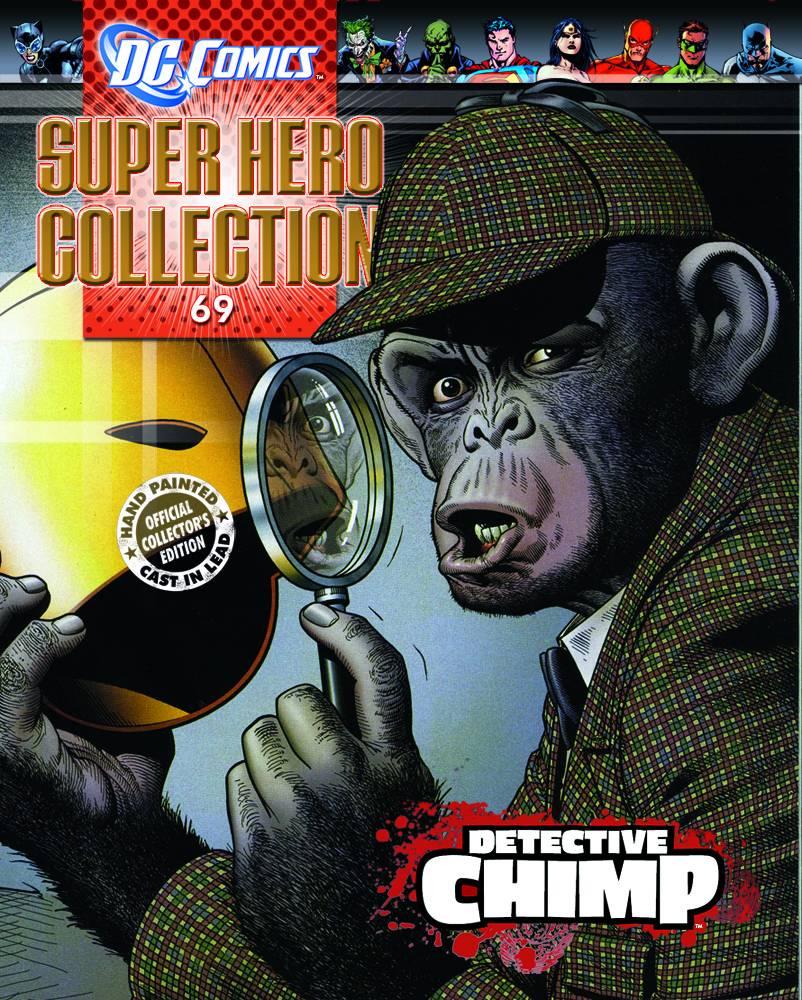 DC SUPERHERO FIG COLL MAG #69 DET CHIMP