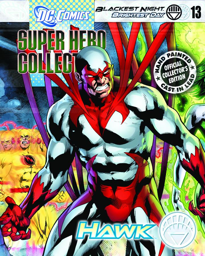 DC BLACKEST NIGHT FIG COLL MAG #13 HAWK