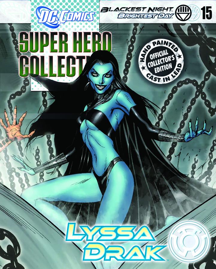 DC BLACKEST NIGHT FIG COLL MAG #15 LYSSA DRAK