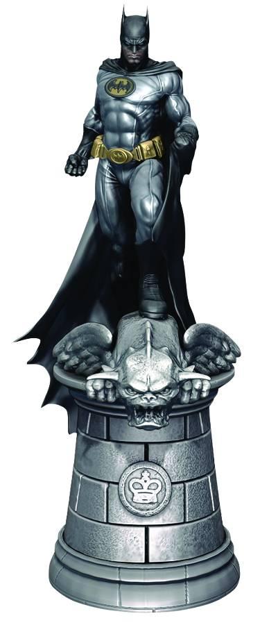 DC SUPERHERO CHESS FIG COLL MAG #1 BATMAN WHITE KING