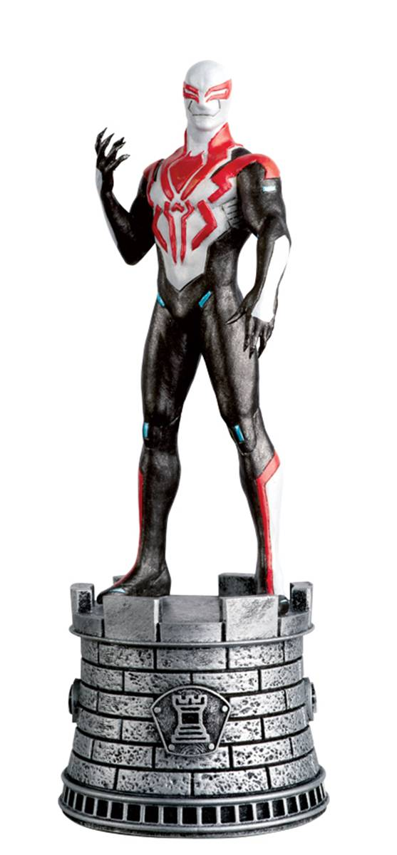 MARVEL CHESS FIG COLL MAG #87 SPIDER-MAN 2099 WHITE ROOK