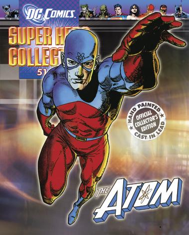 DC SUPERHERO FIG COLL MAG #51 ATOM