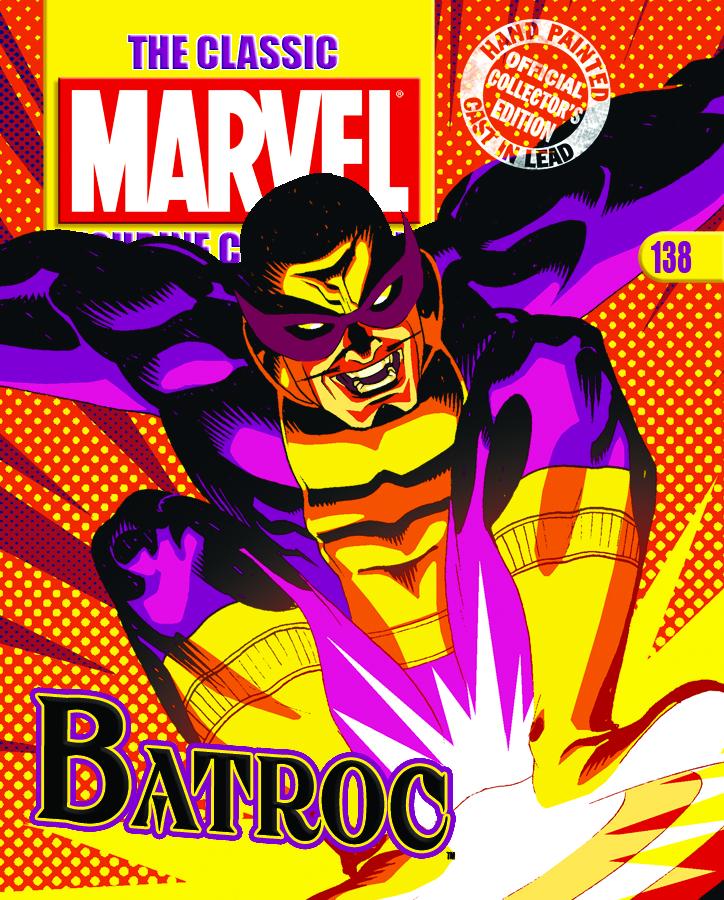 CLASSIC MARVEL FIG COLL MAG #138 BATROC