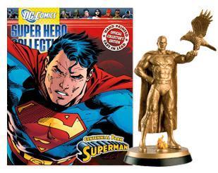 DC SUPERHERO FIG COLL MAG SUPERMAN CENTENNIAL PARK