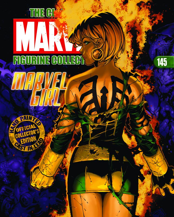 CLASSIC MARVEL FIG COLL MAG #145 MARVEL GIRL