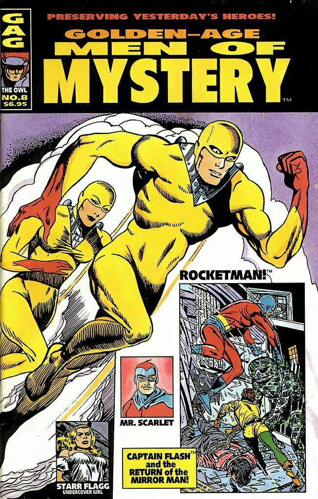 Golden-Age Men of Mystery # 7 # 8 # 9