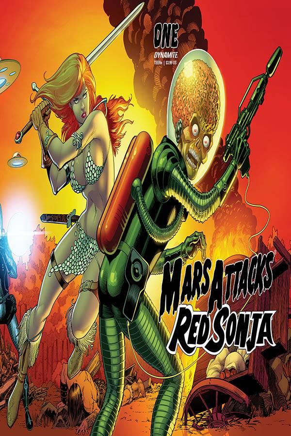 MARS ATTACKS RED SONJA (MS 5)